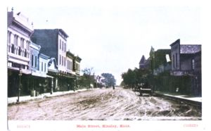 Main St. Kinsley, Kansas