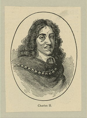 Charles II as a young man.