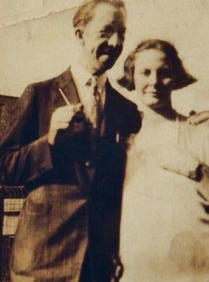 Alfred Munson and 2nd wife Edith Wall