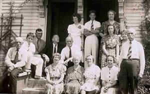 Bartlett Family Reunion Aug, 1939 Groveland
