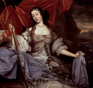 Barbara Villiers by John Michael Wright.
