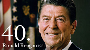Ronald Reagan 40th President