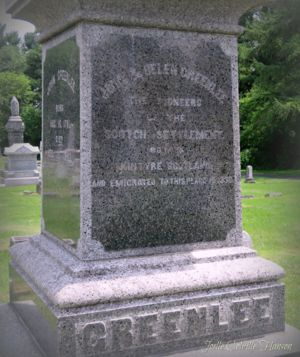 Greenlees Monument