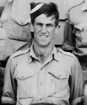 Edmund Hillary in Air Force uniform