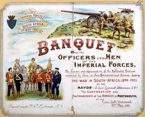 Banquet Invitation to E P Jones