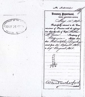 Christopher Ringlesby War of 1812 Service Records Image 3
