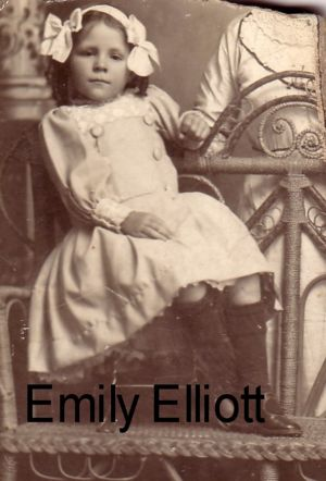 Emily as a Young Girl
