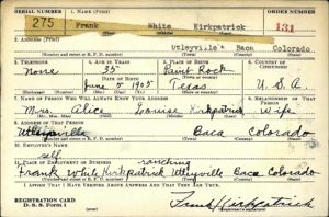 Frank White Kirkpatrick WWII Draft Registration (1)