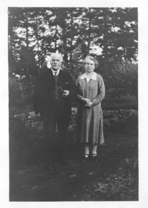 Walter Charles Hunt and Maria Hodge
