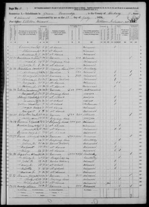 1870 Census Missouri