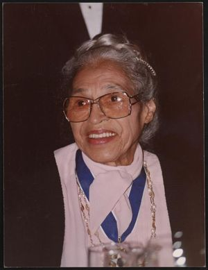 Rosa Parks at the White House