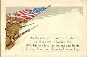 Postcard for a Soldier