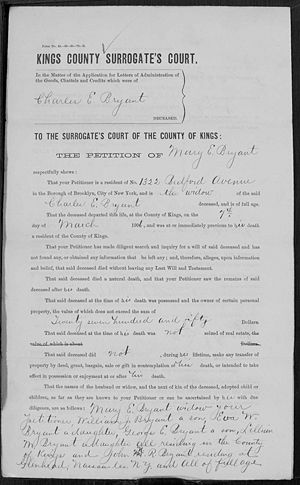 1906 Will of Charles Page 2
