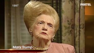 Hair Style of Donald Trump's Mother