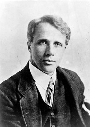 Young Robert Frost