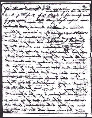 Fayette H. Norvell - Application to West Point 1825 Letter From Rep. David S. Garland Page 3