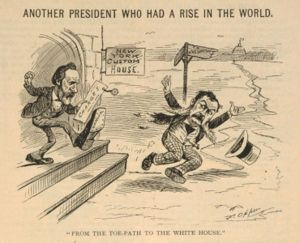 Rutherford Hayes Political Cartoon