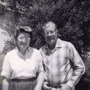 My parents, Dan and Elva Harris