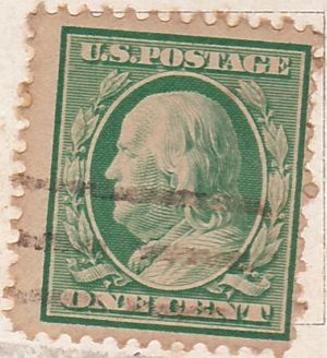 US Postage Stamps - Single Stamps - 01 Cent Image 3