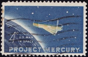 Project Mercury 4 Cents US Postage