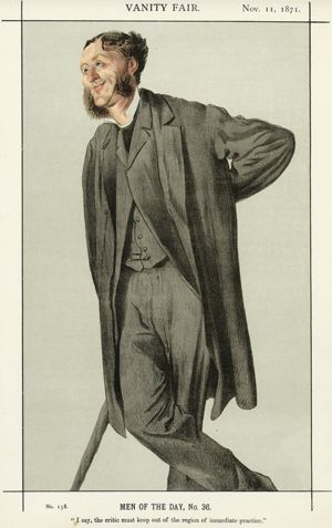 Characature of Matthew Arnold by James Tissot
