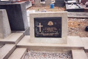 Headstone at Rookwood Cemetery