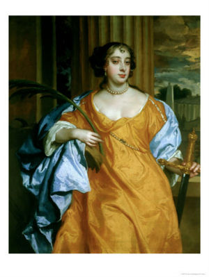 Barbara Villiers by Sir Peter Lely.