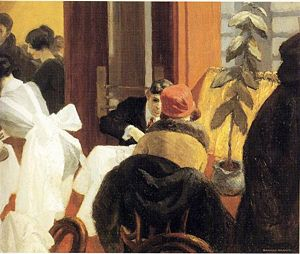 New York Restaurant by Hopper