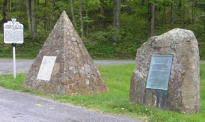 Knights of the Horseshoe Monument