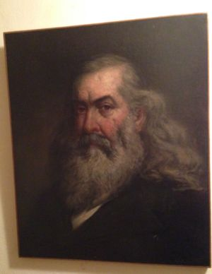 Portrait of Albert Pike by Thomas Satterwhite Noble [[Noble-1685]]