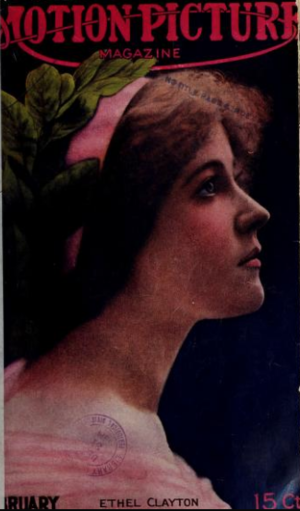 Ethel Clayton on the Cover of Motion Picture Magazine