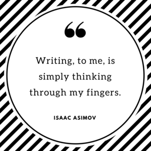 Asimov on writing