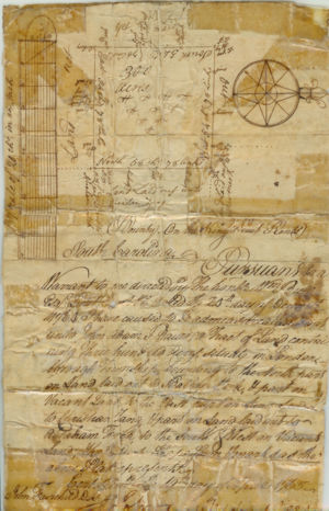 Original Land Deed dated 19th of April 1765