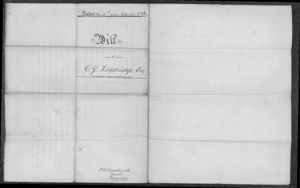 New Zealand, Archives New Zealand, Probate Records for George Yates Lethbridge