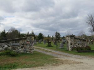 Main Gate of Crawford Cemetery