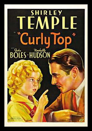John Love Boles - Movie Poster from Curly Top