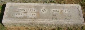John and Rose Hinkle Rea