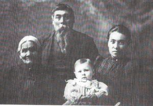 Four Generations - Angelique, Charles, Isabella, Carroll Leach