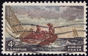 Winslow Homer 4 Cents US Postage