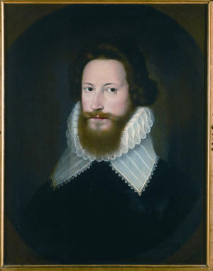 Robert devereux, 2nd Earl of Essex, after Isaac Olivwer. From the Burghley House collection