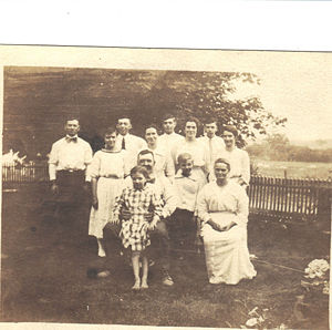William and Martha Martin and Family early 1900s
