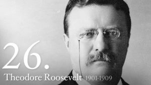 Theodore Roosevelt 26th President