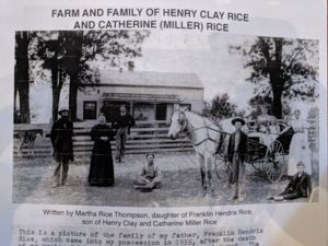 Farm and Family of Henry Clay Rice