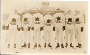 1932 Canadian Men's Olympic Speedstaking Team