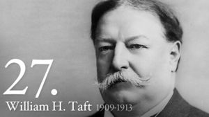William Howard Taft 27th US President