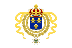 Royal Standard of King Louis XIV, King of Nouvelle Francaise