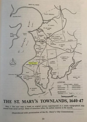 St. Mary's Townlands, 1640-47