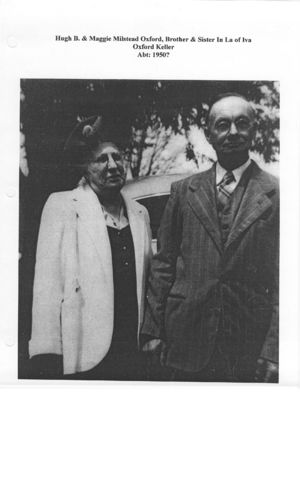Photo of Hugh Blair Oxford and spouse Maggie Lee Milstead