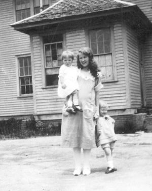 Eunice Lord and Unknown Children