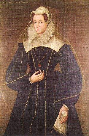 Mary, Queen of Scots, by an Unknown Artist.